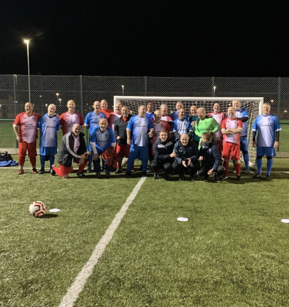 Walking Football in aid of Mind Mon